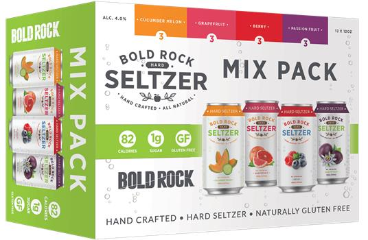 BOLD ROCK SELTZER VARIETY