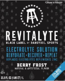 REVITALYTE BLACK LABEL