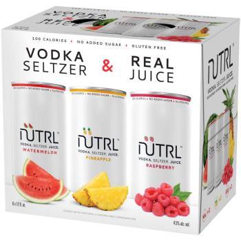 NUTRL VODKA SODA VARIETY PACK
