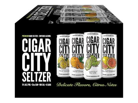 CIGAR CITY SELTZER MIXED PACK