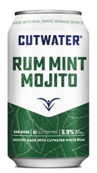 CUTWATER RUM MINT MOJITO