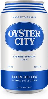 OYSTER CITY TATE'S HELLES LAGER