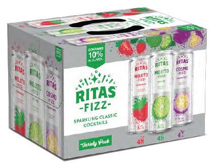 RITAS FIZZ VARIETY
