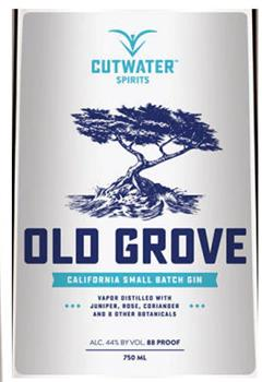 CUTWATER OLD GROVE GIN