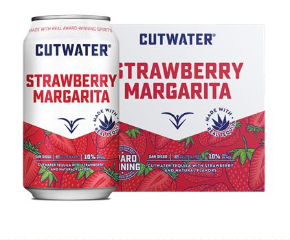 CUTWATER STRAWBERRY MARGARITA