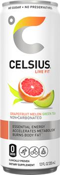 CELSIUS GRAPEFRUIT MELON GREEN TEA