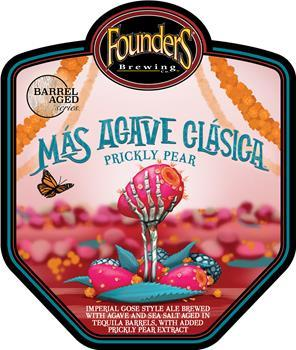 FOUNDERS MAS AGAVE CLASICA PRICKLY PEAR