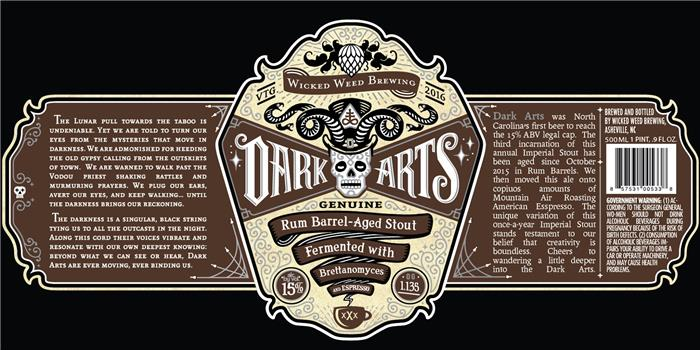 WICKED WEED DARK ARTS ESPRESSO