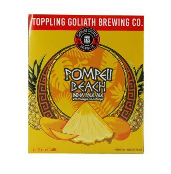 TOPPLING GOLIATH POMPEII BEACH