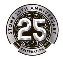 STONE 25TH ANNIVERSARY