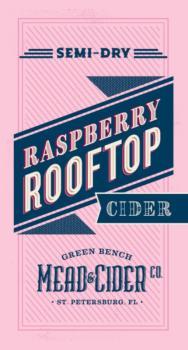 GREEN BENCH RASPBERRY ROOFTOP