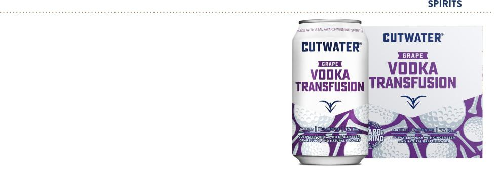 CUTWATER VODKA TRANSFUSION