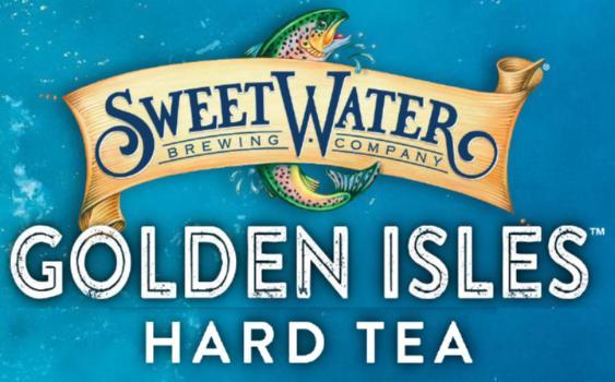 SWEETWATER GOLDEN ISLE GEORGIA PEACH HARD TEA