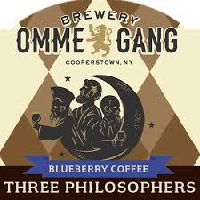 OMMEGANG 3 PHILOSOPHERS BLUEBERRY COFFEE