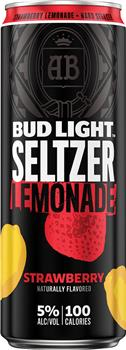 BUD LT SELTZER STRAWBERRY LEMONADE