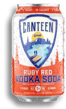 CANTEEN RUBY RED GRAPEFRUIT VODKA SODA