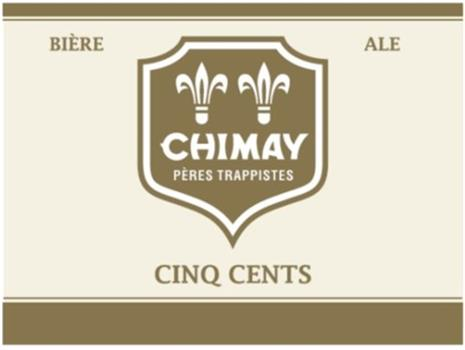 CHIMAY WHITE CINQ CENTS