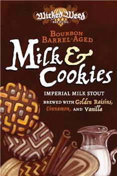 WICKED WEED BARREL AGED MILK AND COOKIES
