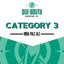 DUE SOUTH CATEGORY 3 IPA