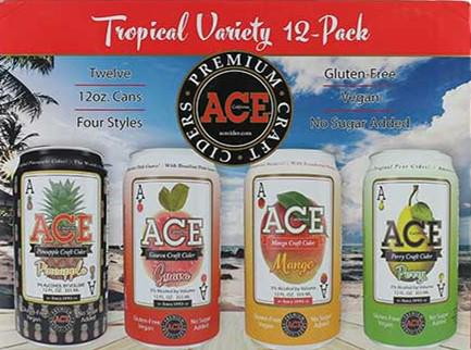 ACE CIDER TROPICAL VARIETY