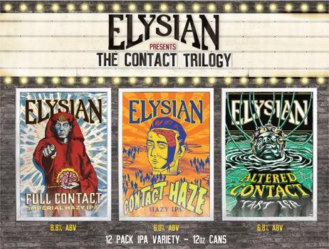 ELYSIAN CONTACT TRILOGY