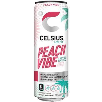 CELSIUS SPARKLING PEACH VIBE
