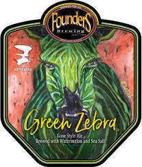FOUNDERS GREEN ZEBRA