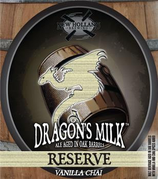 NEW HOLLAND RESERVE DRAGON'S MILK VANILLA & CH