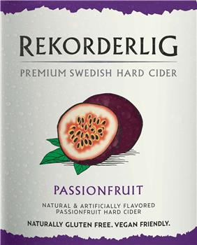 REKORDERLIG PASSION FRUIT
