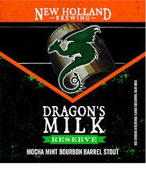 NEW HOLLAND RESERVE DRAGON'S MILK MOCHA MINT