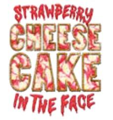 TAMPA BAY STRAWBERRY CHEESECAKE IN THE FACE