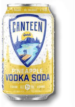 CANTEEN PINEAPPLE VODKA SODA