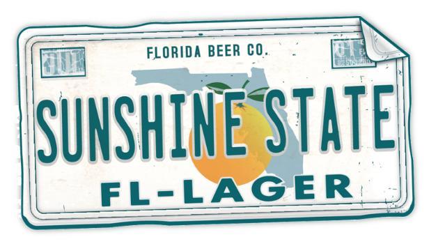 SUNSHINE STATE LAGER