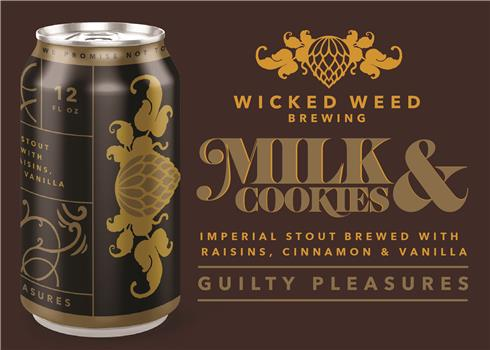WICKED WEED MILK AND COOKIES