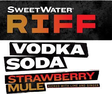 SWEETWATER RIFF VODKA SODA STRAWBERRY MULE