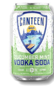 CANTEEN CUCUMBER MINT VODKA SODA