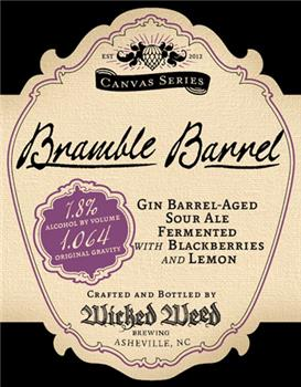 WICKED WEED BRAMBLE BARREL