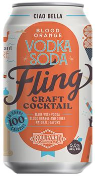 FLING BLOOD ORANGE VODKA SODA