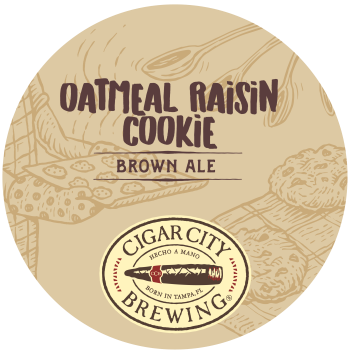 CIGAR CITY OATMEAL RAISIN COOKIE