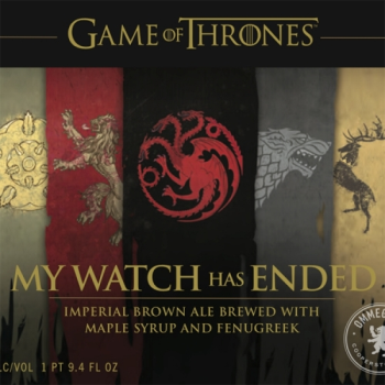 OMMEGANG GoT MY WATCH HAS ENDED