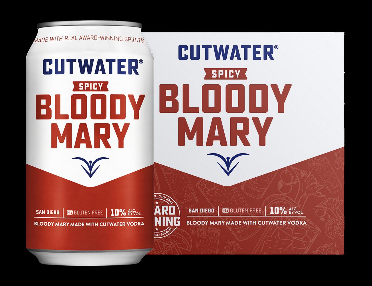 CUTWATER VODKA MILD BLOODY MARY