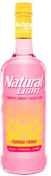 NATTY LIGHT VODKA STRAWBERRY LEMONADE