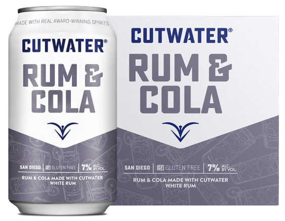 CUTWATER RUM AND COLA