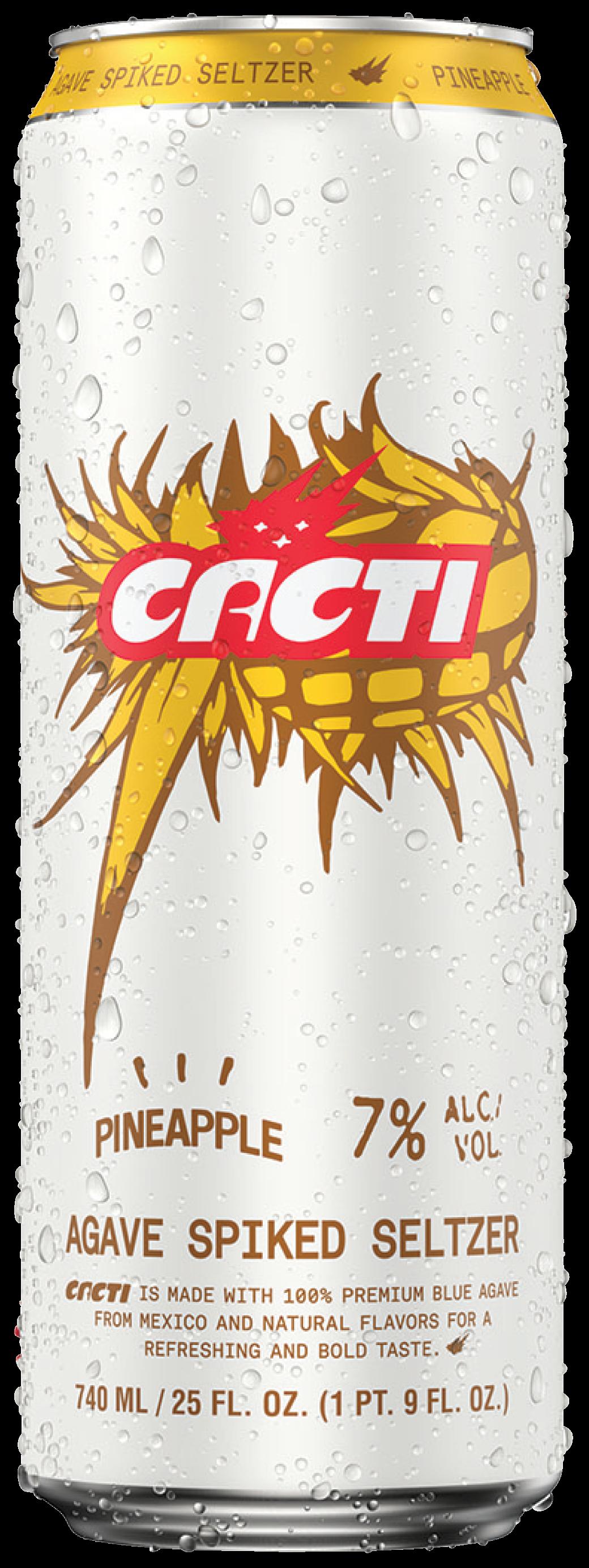 CACTI AGAVE SELTZER PINEAPPLE